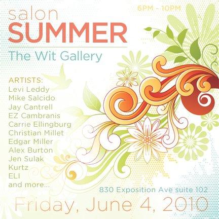 Dallas Art Show: The Wit Gallery June 4th