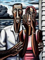 Kansas City, Missouri David Bates: The Katrina Paintings