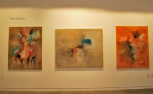 "Art Show Dallas ""Venezuela Inside & Out "" with Marina Lefeld & Fannie Brito."