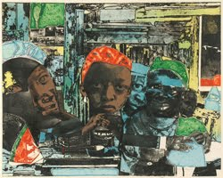 From Process to Print: Graphic Works by Romare Bearden Austin Museum of Art