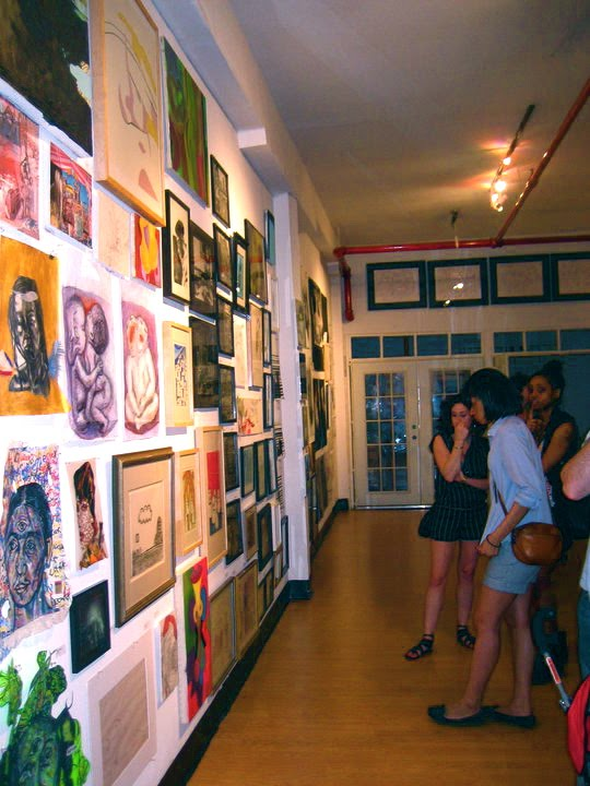 Greenpoint Art gallery in Brooklyn