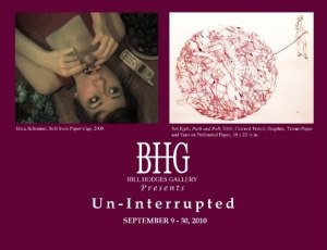 Un-Interrupted Bill Hodges Gallery New York Art Opening