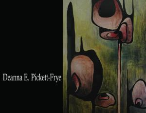 The Anderson County Arts Council annonuces the solo exhibition of abstract expressionest artist Denna Pickett-Fry