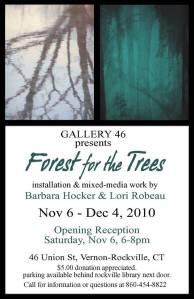 Gallery 46 Vernon-Rockville Connecticut