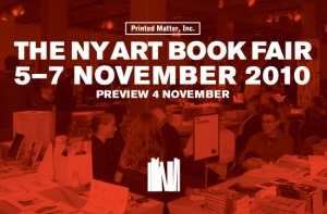 Printed Matter, Inc. presents THE NY ART BOOK FAIR