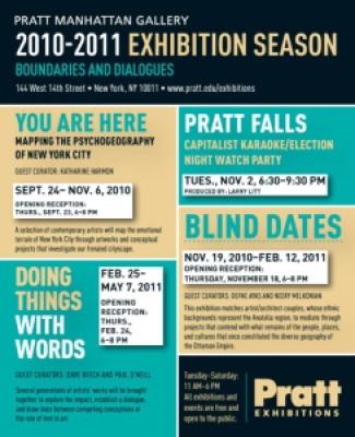 Pratt Manhattan Gallery 144 West 14th Street, New York City