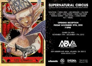 SuperNatural Circus A Collection of Atlanta Based Artists