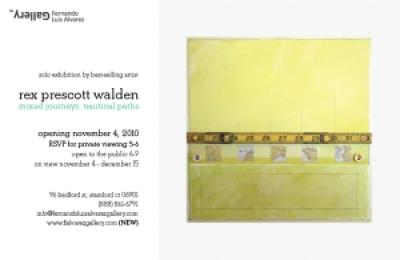 Mixed Journeys: Nautical Paths A Solo Exhibition by Connecticut Contemporary Artist, Rex Prescott Walden