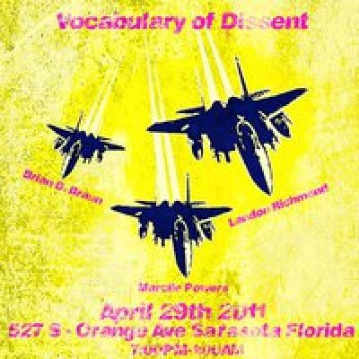 The Vocabulary of Dissent Art Exhibit Sarasota Florida