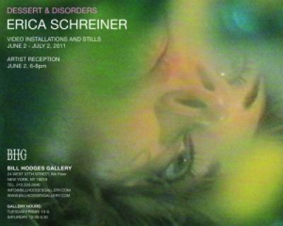 Dessert & Disorders Video Installations and Stills by Erica Schreiner