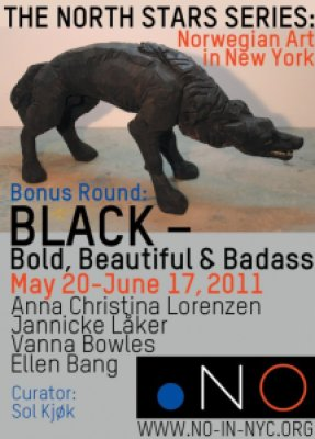 Black and Exhibition at .NO gallery New York