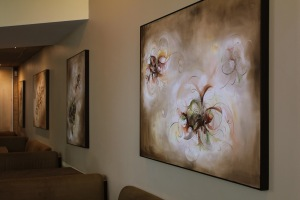 Chicago, IL – The artwork of Chicago Artist Claudia Smalley will be featured at Green Zebra Restaurant through September 2011.