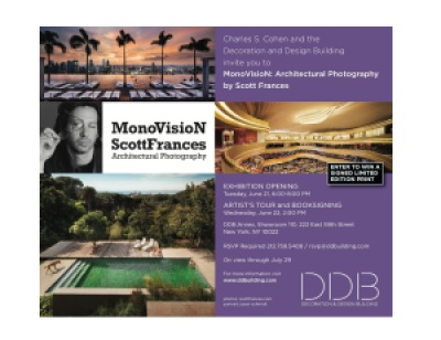 MonoVisioN Architectural Photography by Scott Frances Design & Decoration Building Annex New York
