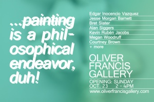 Art Opening Oliver Francis Gallery Dallas