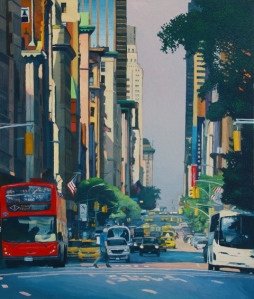 "Dallas Cityscape Artist, David Leonard to open in ""Art with a View at BarBelmont,"""