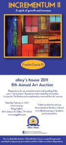Call to Artist Dallas – Alley's House Fundraiser