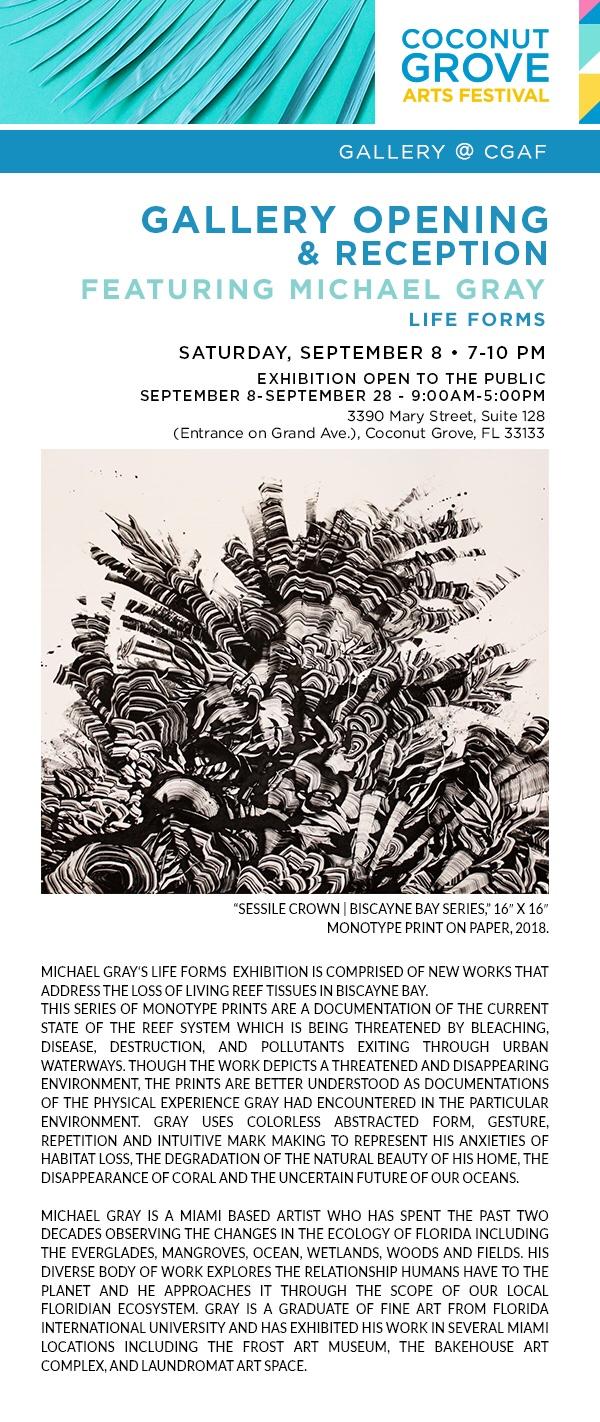 Coconut Grove Art Festival Featuring Michael Gray